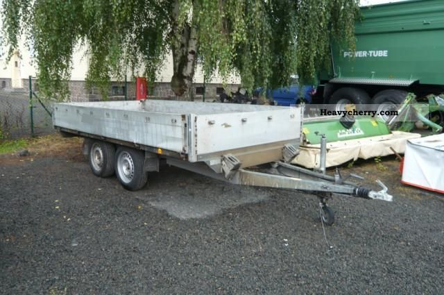 1993 Heinemann  2 ton tandem trailer with liftgate Trailer Trailer photo