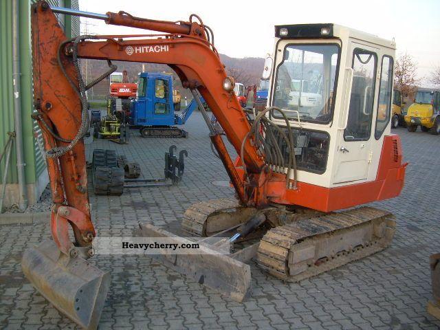 1989 Hitachi  UE 40, mini-excavators, 4 tons, steel chain, TL, GL Construction machine Mini/Kompact-digger photo
