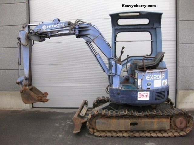 2011 Hitachi  EX20UR (957) Construction machine Mini/Kompact-digger photo