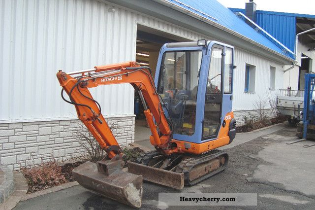 2001 Hitachi  EX 16-2 Construction machine Mini/Kompact-digger photo