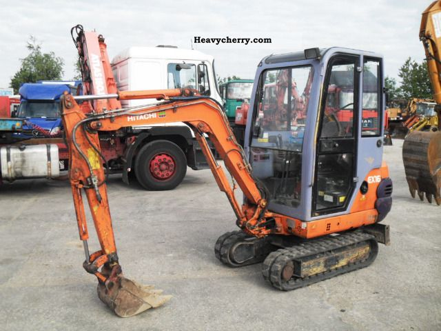 2002 Hitachi  EX 16 - 2 B Construction machine Mini/Kompact-digger photo