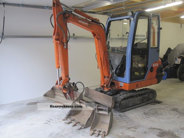 2000 Hitachi  EX 15 Construction machine Mini/Kompact-digger photo