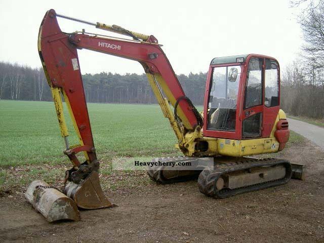 2006 Hitachi  ZX 50 Construction machine Mini/Kompact-digger photo