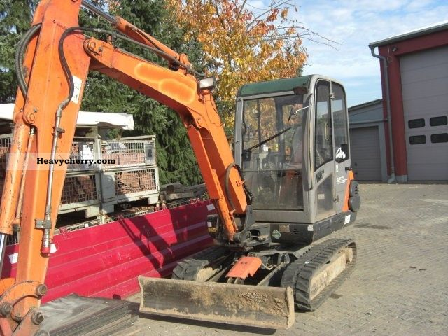 2004 Hitachi  EX 35 Construction machine Mini/Kompact-digger photo