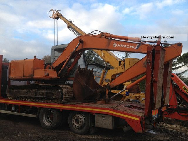 1995 Hitachi  120-2 Construction machine Caterpillar digger photo