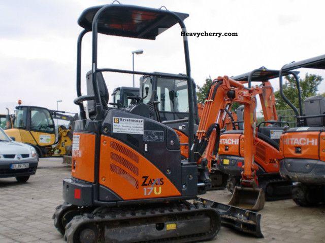 2011 Hitachi  ZX 17 U-2 Y Construction machine Mini/Kompact-digger photo