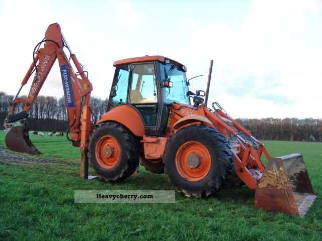 1998 Hitachi  FB200-4WS HAMMER LINES Construction machine Combined Dredger Loader photo