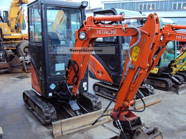 2011 Hitachi  ZX17-U Construction machine Mini/Kompact-digger photo