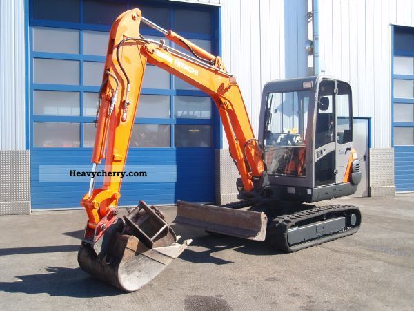 2006 Hitachi  ZAXIS ZX35 Construction machine Mini/Kompact-digger photo