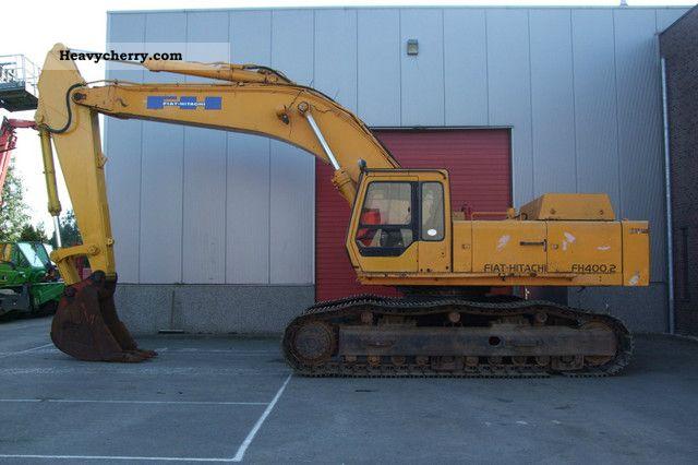 1992 Hitachi  FH400.2 Construction machine Caterpillar digger photo