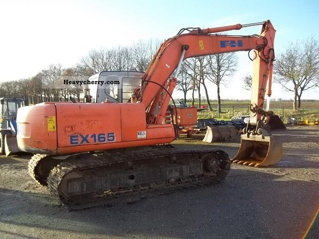1999 Hitachi  EX 165 LC Construction machine Caterpillar digger photo