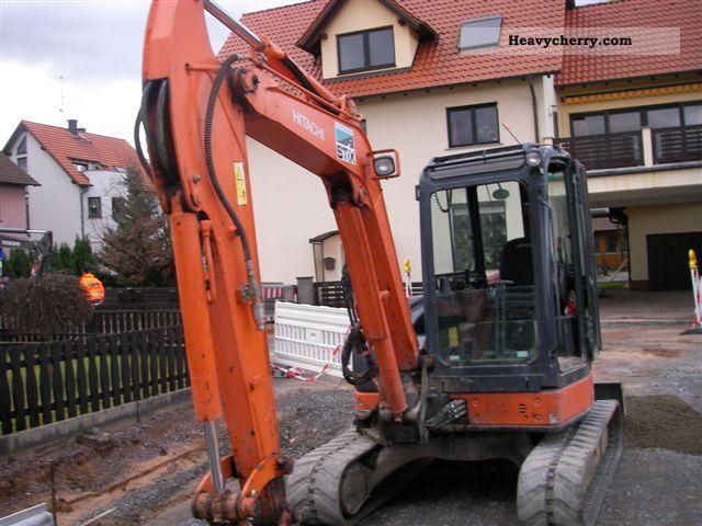 2007 Hitachi  ZX 50 U-2 CLR Construction machine Mini/Kompact-digger photo