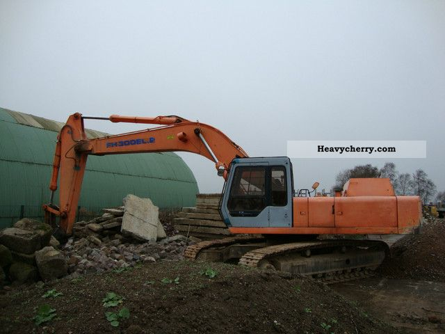 1993 Hitachi  FH 300 EL.2 Construction machine Caterpillar digger photo