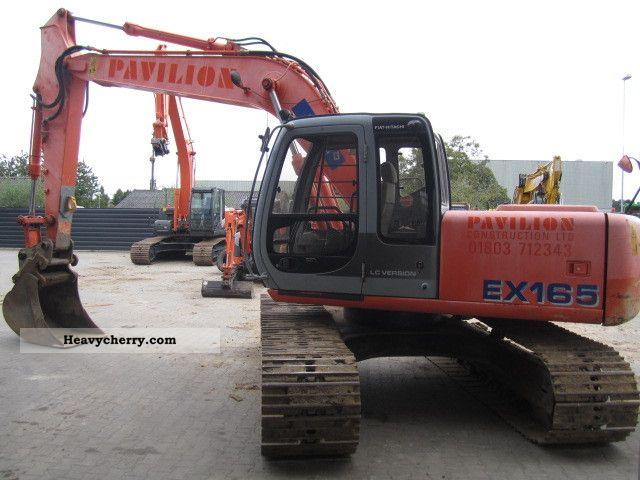 2002 Hitachi  EX165LC Construction machine Caterpillar digger photo