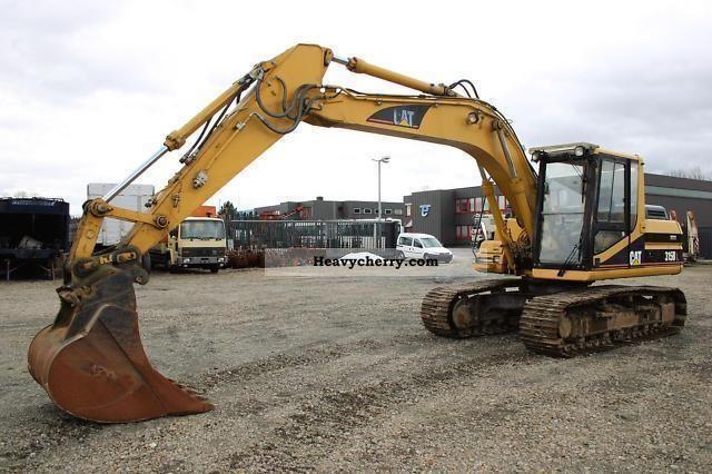 1998 Hitachi  315 BL excavator Construction machine Caterpillar digger photo