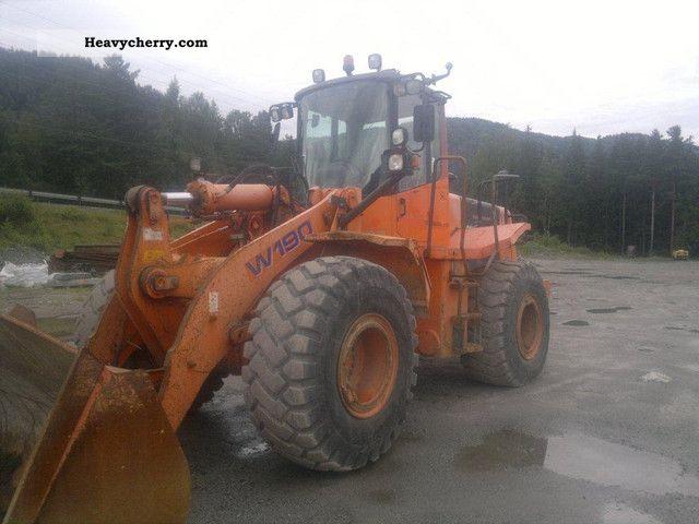 1999 Hitachi  W190 Construction machine Wheeled loader photo