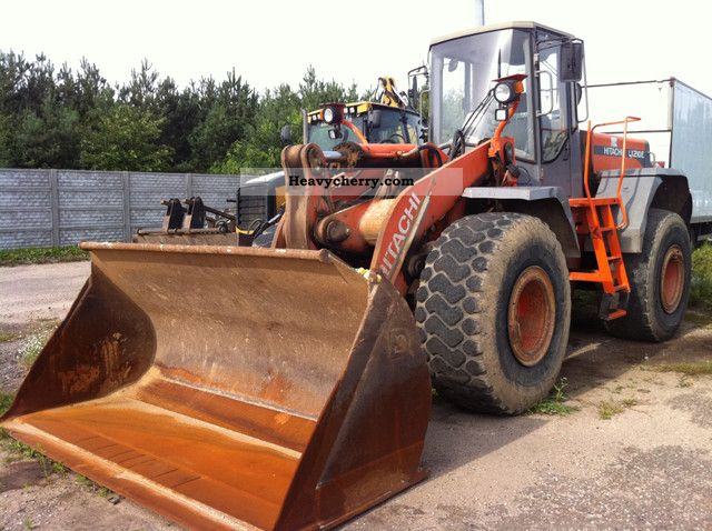 2003 Hitachi  Loaders LX 210 E READY Construction machine Wheeled loader photo