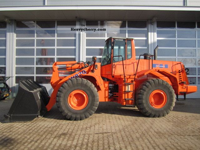 2002 Hitachi  W270 Construction machine Wheeled loader photo