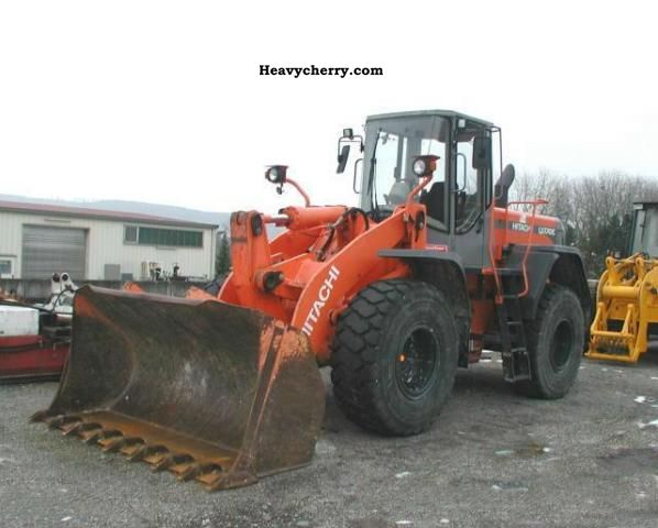 2004 Hitachi  LX 170 Construction machine Wheeled loader photo