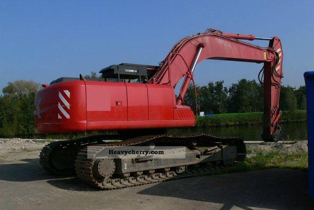 2007 Hitachi  ZX 280LC-3 Construction machine Caterpillar digger photo