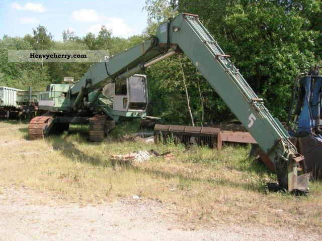 1993 Hitachi  Excavator FH400LCH.2 Construction machine Caterpillar digger photo
