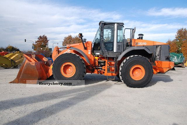 2008 Hitachi  ZW310 Construction machine Wheeled loader photo