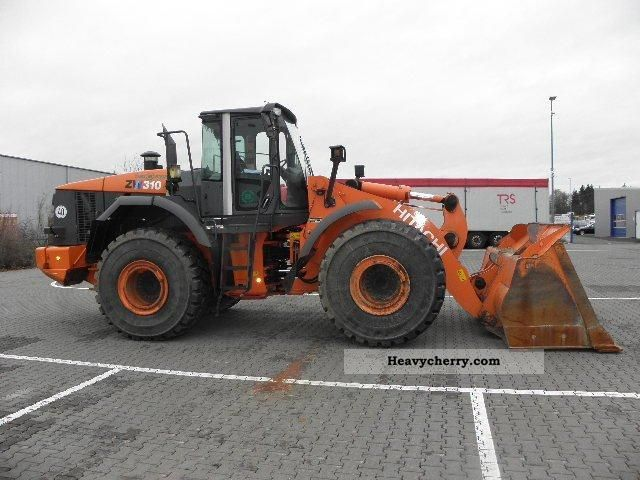 2010 Hitachi  ZW 310 (wheel loader is in the lead!) Construction machine Wheeled loader photo
