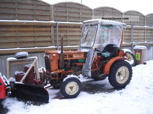 1975 Holder  METZ P60 INGE slug FLUGHT/DIESEL/1 HAND Agricultural vehicle Tractor photo