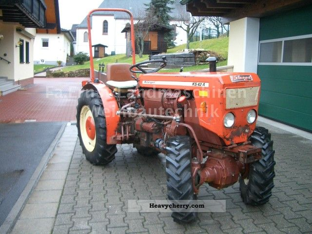1983 Holder  Krieger KS 42 AK-wheel tractor with TUV! Agricultural vehicle Tractor photo