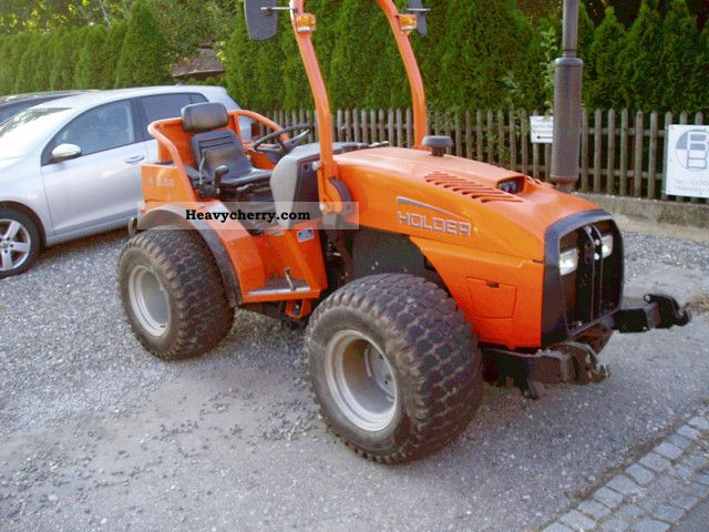 2002 Holder  A5.58 with front linkage Agricultural vehicle Other substructures photo