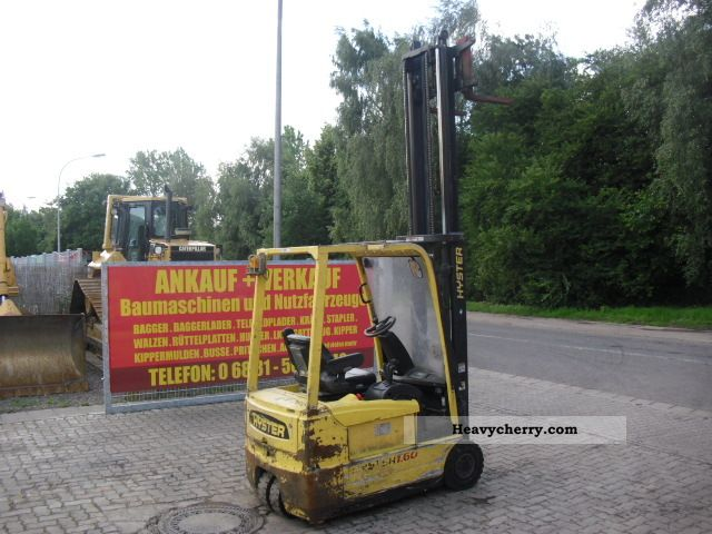 2004 Hyster  1.6 T Electric Forklift Forklift truck Front-mounted forklift truck photo