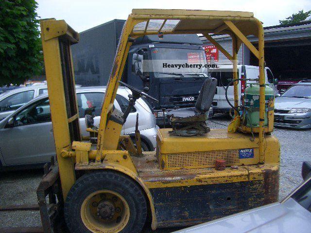 1982 Hyster  *** Forklift side shift Forklift truck Front-mounted forklift truck photo