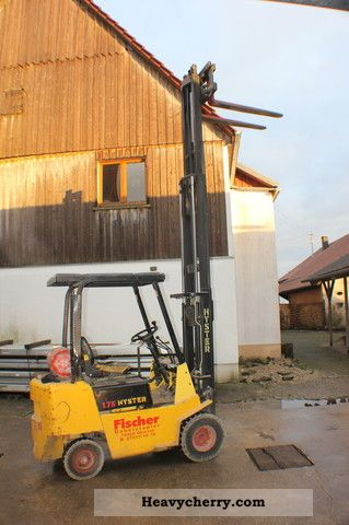 1992 Hyster  1.75 Forklift truck Front-mounted forklift truck photo