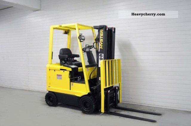 2000 Hyster  E 1.75 XM, SS, TRIPLEX, 8420Bts! Forklift truck Front-mounted forklift truck photo