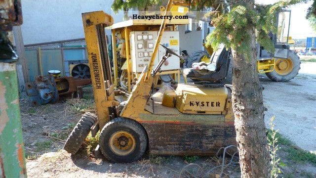 2011 Hyster  H25E Forklift truck Other forklift trucks photo