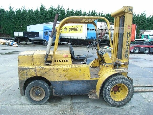 Hyster H80C diesel 1987 Other forklift trucks Photo and Specs