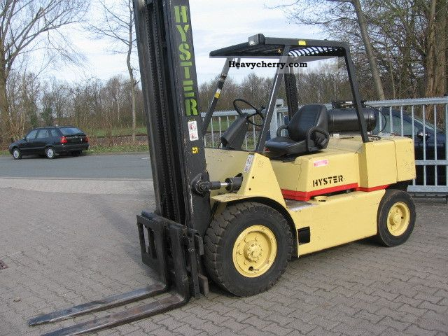 2011 Hyster  H 100 Mtr height 4.35 Forklift truck Front-mounted forklift truck photo