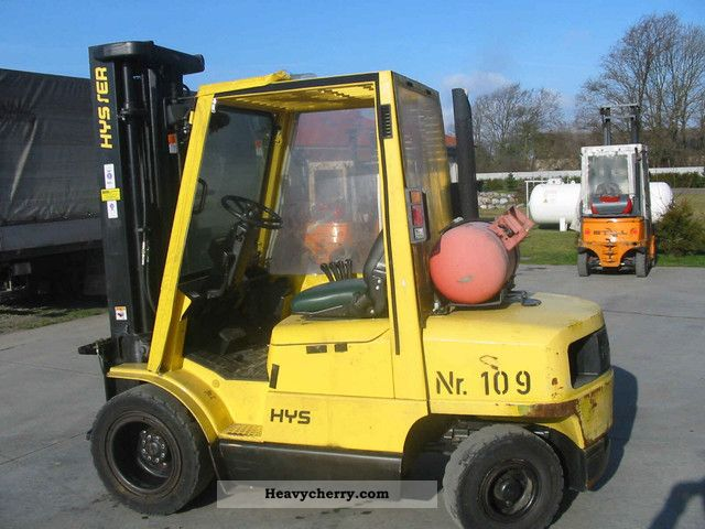 1998 Hyster  3:20 Forklift truck Front-mounted forklift truck photo