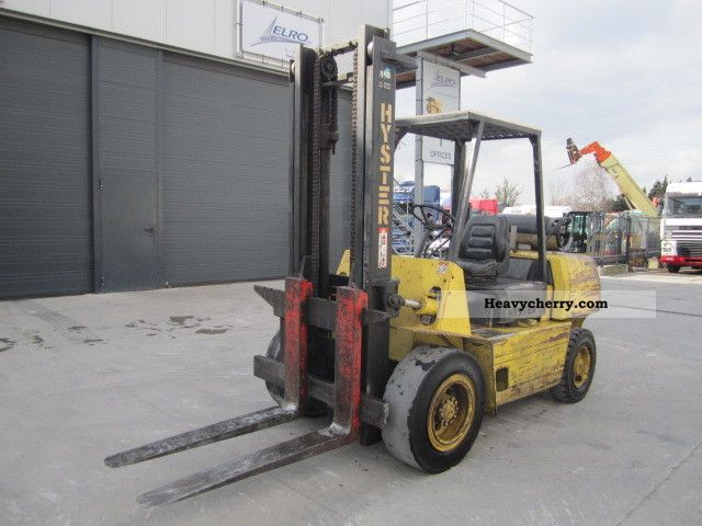 1993 Hyster  4:50 H Forklift truck Front-mounted forklift truck photo