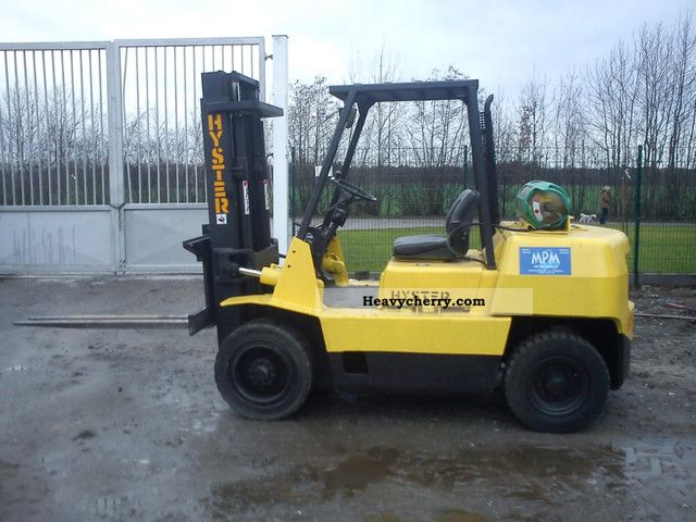1996 Hyster  4:00 Forklift truck Front-mounted forklift truck photo