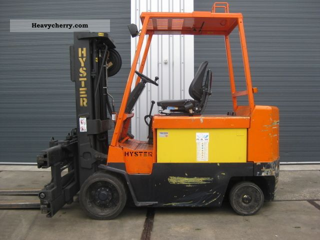 1991 Hyster  28 201 Forklift truck Front-mounted forklift truck photo