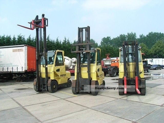 2005 Hyster  4.00XM H-6 Forklift truck Front-mounted forklift truck photo