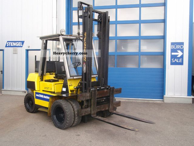 1987 Hyster  * S * H ​​3.50 TOP diesel delivery possible Forklift truck Front-mounted forklift truck photo