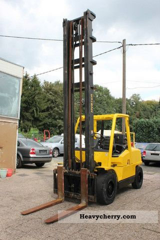 2002 Hyster  5:00 XM Forklift truck Front-mounted forklift truck photo