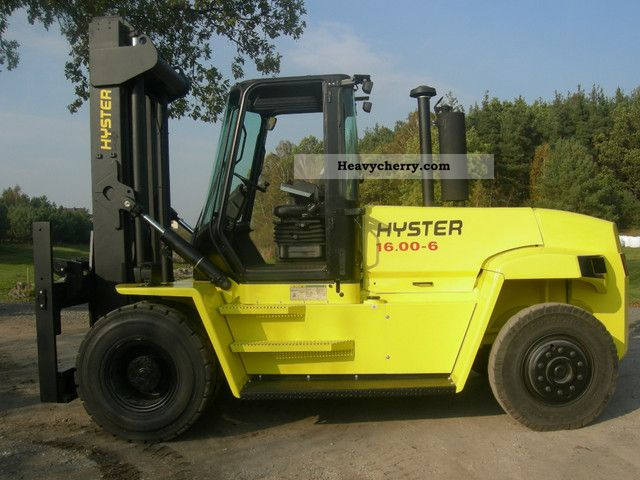2008 Hyster  16.00XM H-6 Forklift truck Front-mounted forklift truck photo