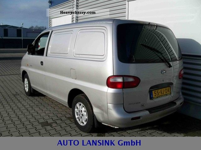 Hyundai h200 specificaties 1999