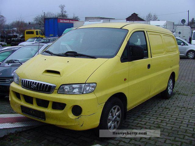 2005 Hyundai  H - 1, Air Van or truck up to 7.5t Box-type delivery van photo