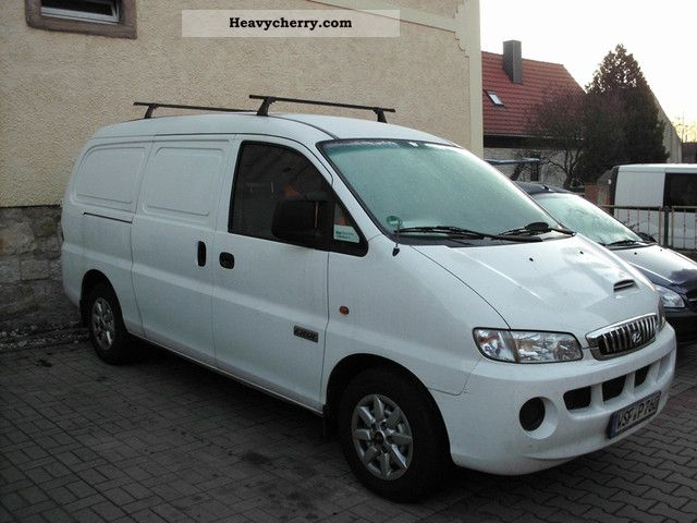 hyundai h1 2007 box type delivery van photo and specs. Black Bedroom Furniture Sets. Home Design Ideas