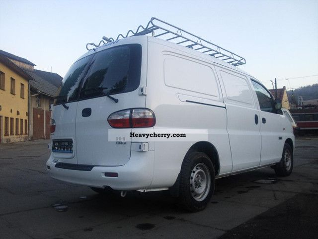 2007 Hyundai  H 1 H-1 2.5 CRDI BJ 2007 PS-110 KM-70000! Van or truck up to 7.5t Box-type delivery van - long photo