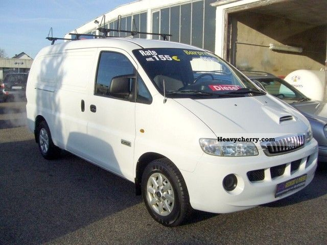2007 Hyundai  H 1 HK Van or truck up to 7.5t Box-type delivery van photo